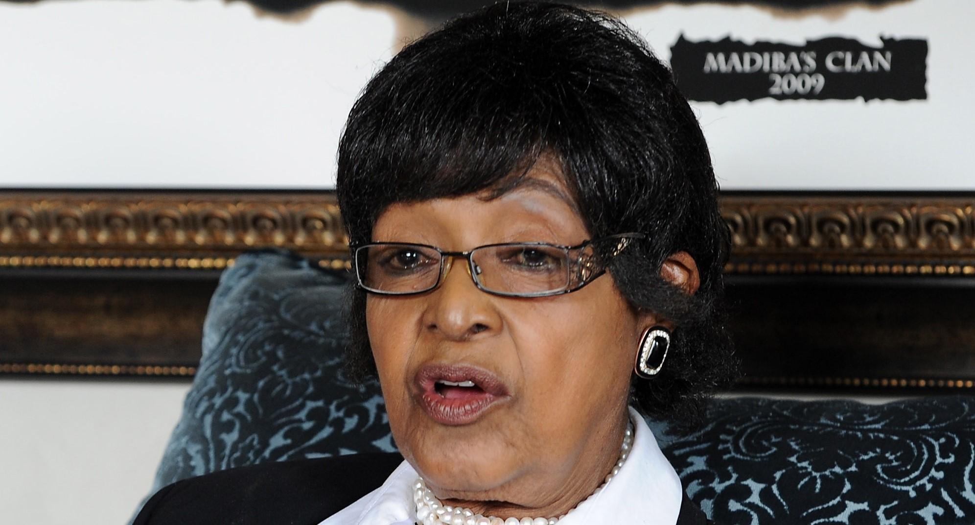Mandela'nın eski eşi Winnie Madikizela miras davasını kaybetti