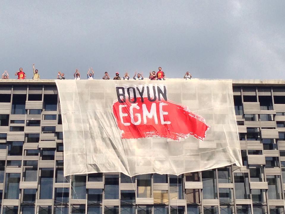 RÖPORTAJ | Pankartı asanlar öyküsünü anlattı!