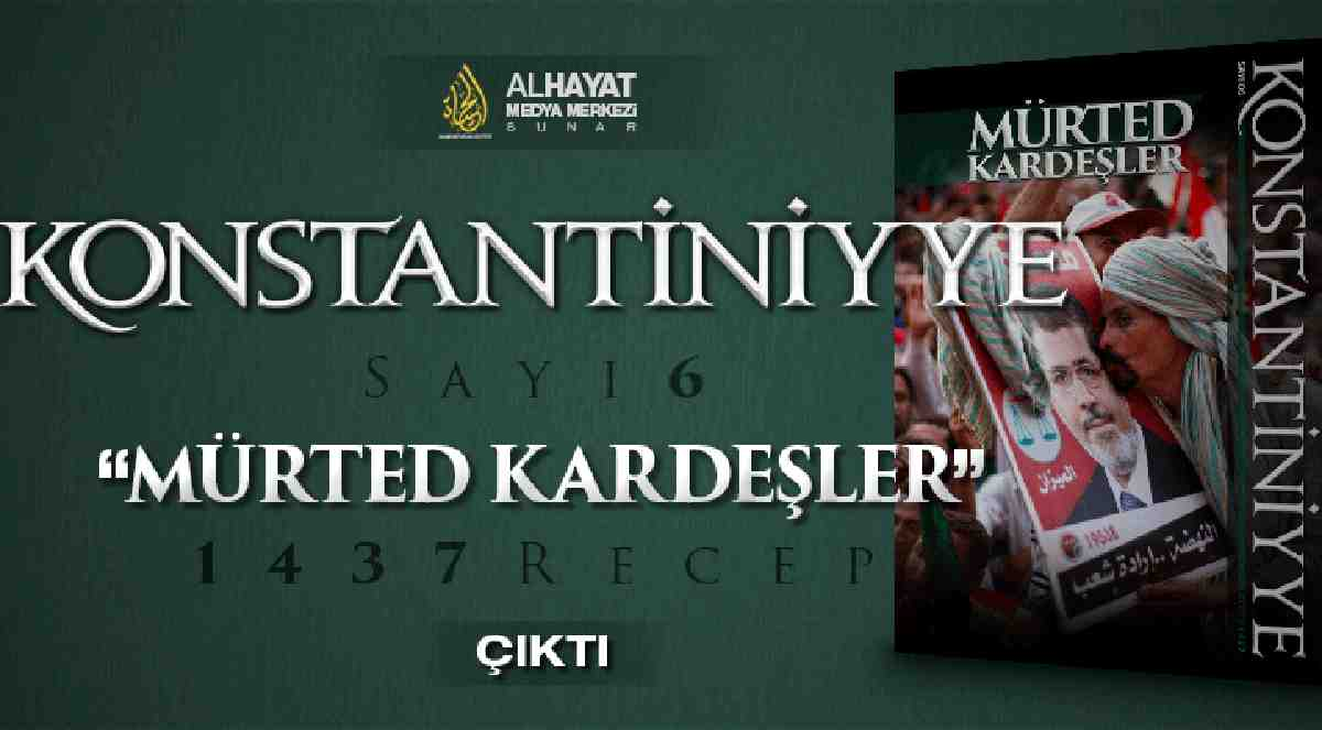 IŞİD'in propaganda dergisi Konstantiniyye: Türk askeri elimizde
