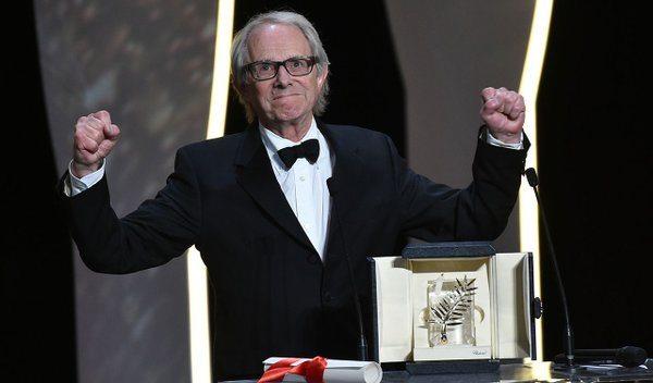 Cannes'da Altın Palmiye'yi Ken Loach kazandı