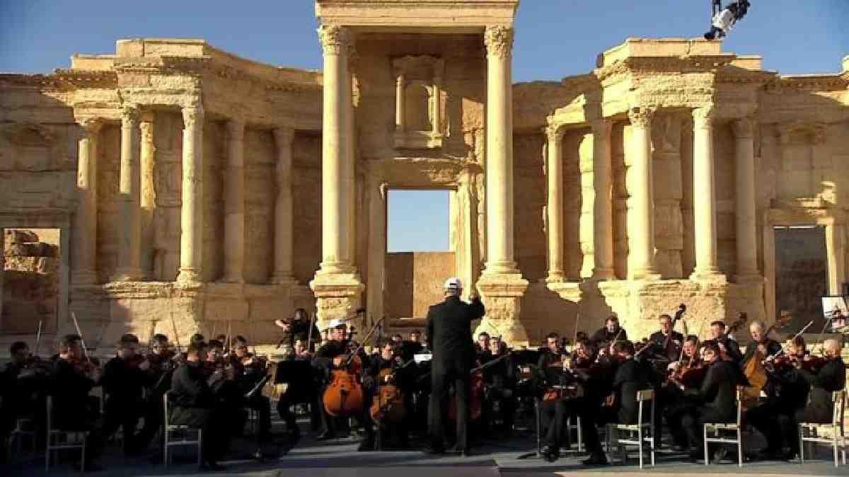 Rusya: Palmira konseri ABD'ye en iyi cevap