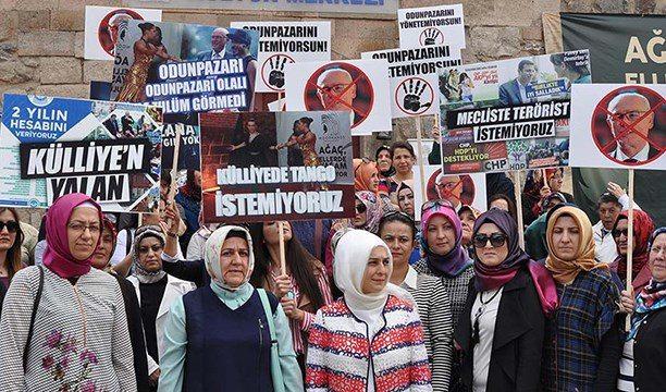 AKP'li kadınlardan tango, çaça tepkisi!
