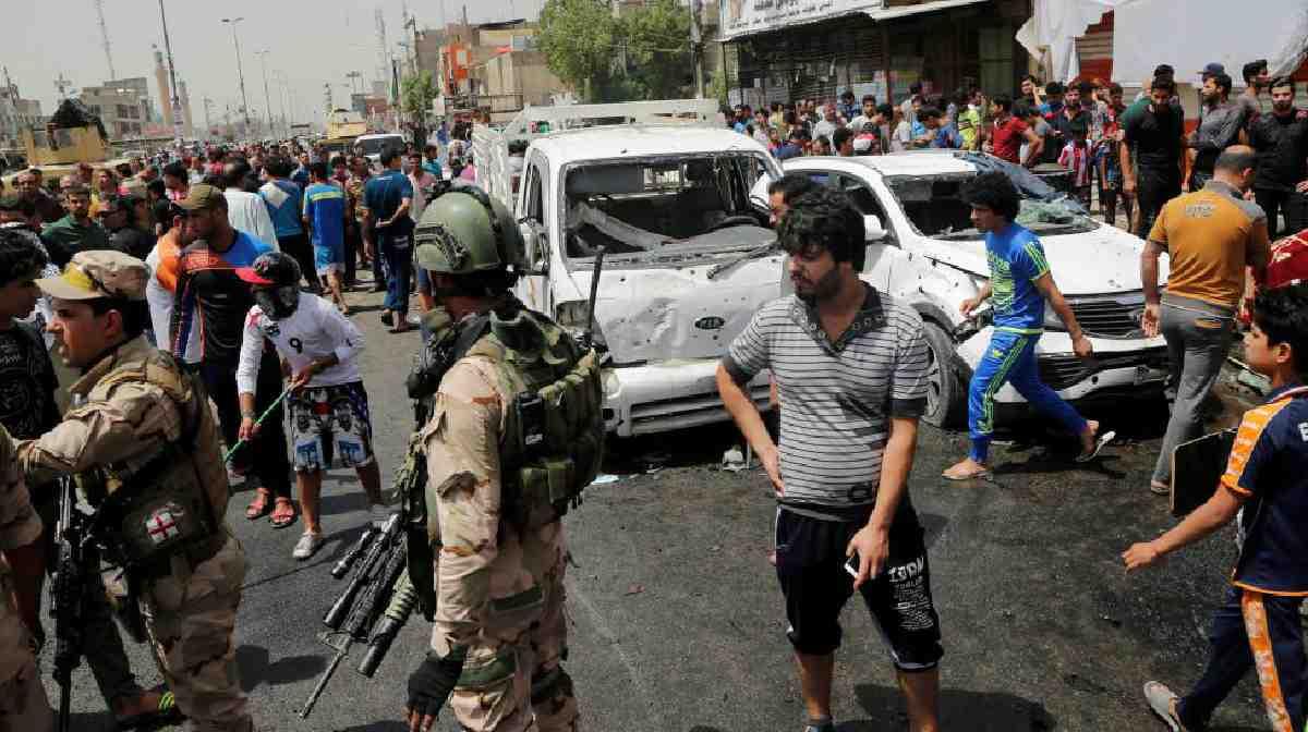 IŞİD Bağdat'ta katliam yaptı en az 64 kişi öldü