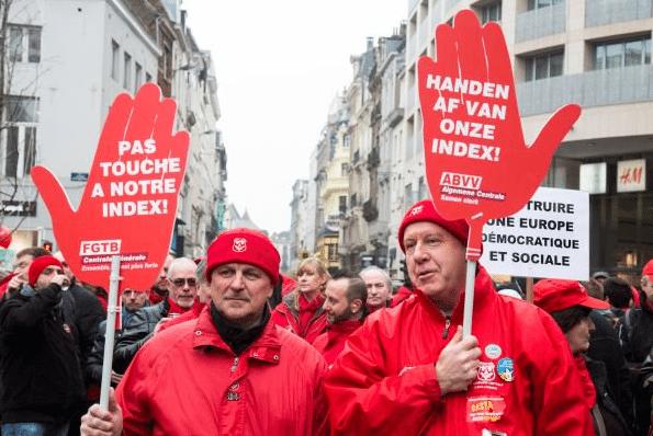 Demiryolu çalışanları Fransa'dan sonra Belçika'da da grevde