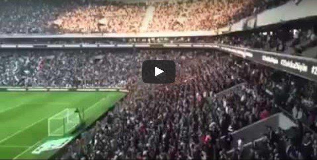 VİDEO | Galatasaray'dan sonra Beşiktaş stadında da isyan: Türkiye laiktir laik kalacak