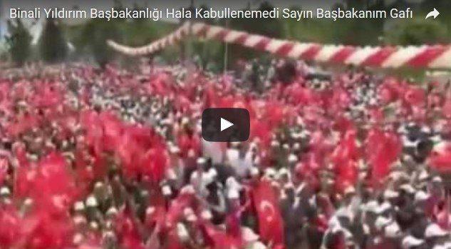VİDEO | Başbakan olduğunu unuttu!