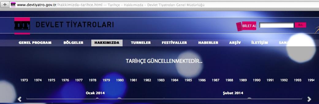 """Iraz Yöntem yazdı: """"Tarihçe güncellenmektedir""""…"""