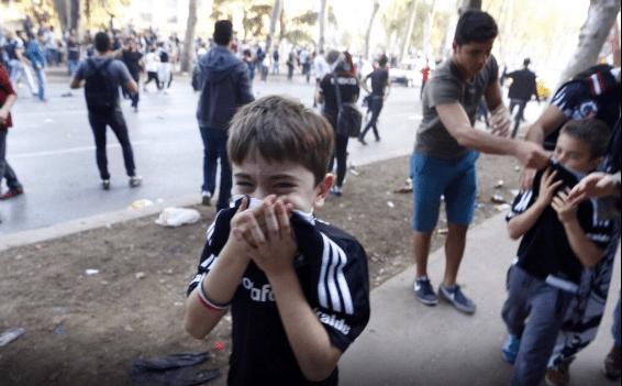 Beşiktaş'ta şampiyonluk kutlamasına polis saldırısı!