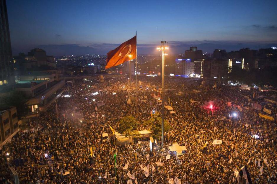 81 ilin valisine'Gezi' uyarısı