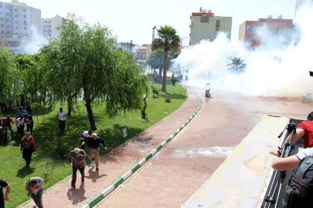 HDP mitingine polis saldırısı