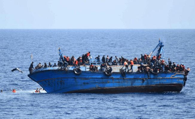 Libya açıklarında batan teknede 5 mülteci yaşamını yitirdi