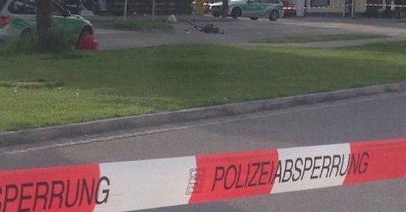 Münih'te 'tekbir'li saldırı: 1 ölü, 3 yaralı