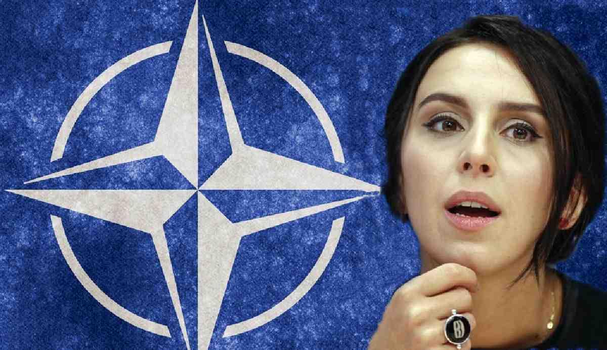 Eurovision birincisi Jamala'ya NATO'dan hem tanıtım hem tebrik