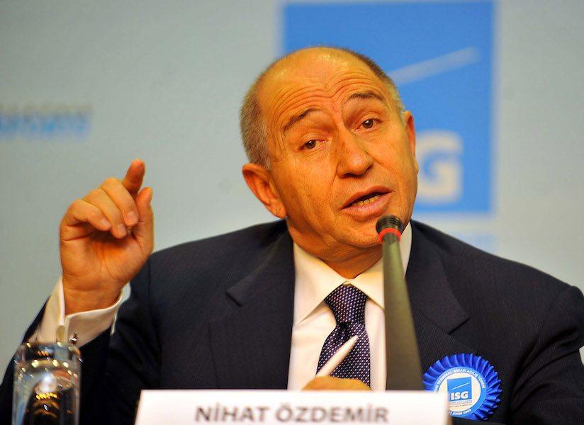 Nihat Özdemir, AKP'nin yatırımlarından şikayet etti