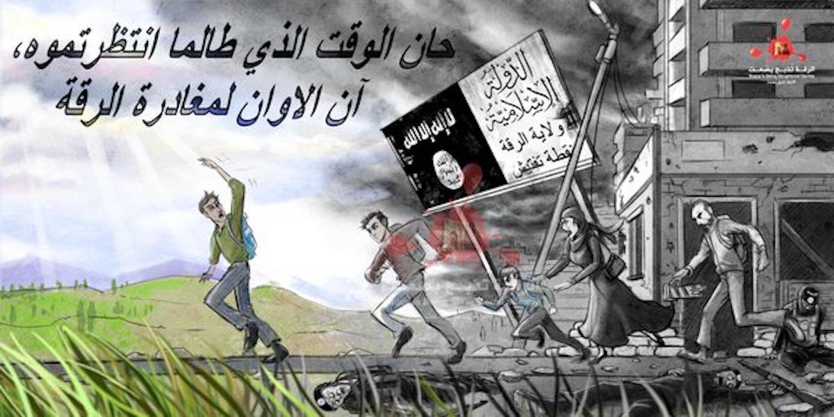 IŞİD Rakka'yı kapattı