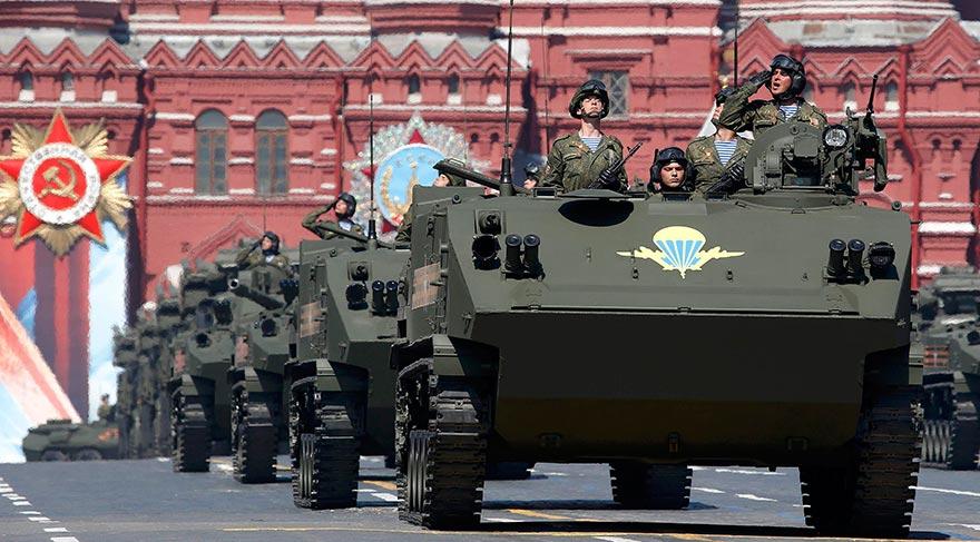 Rusya, 71. yılında Zafer Günü'nü kutluyor