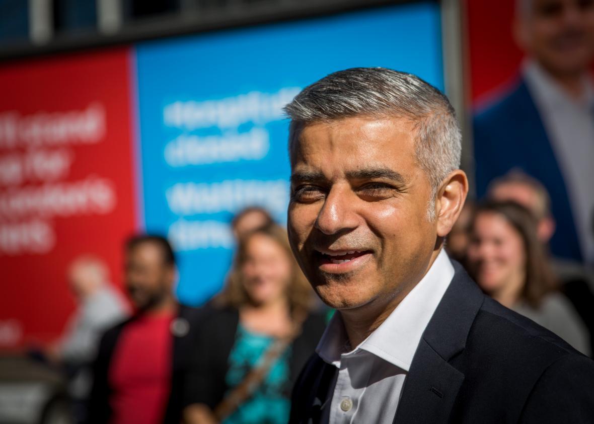 Londra'ya İşçi Partili Müslüman belediye başkanı
