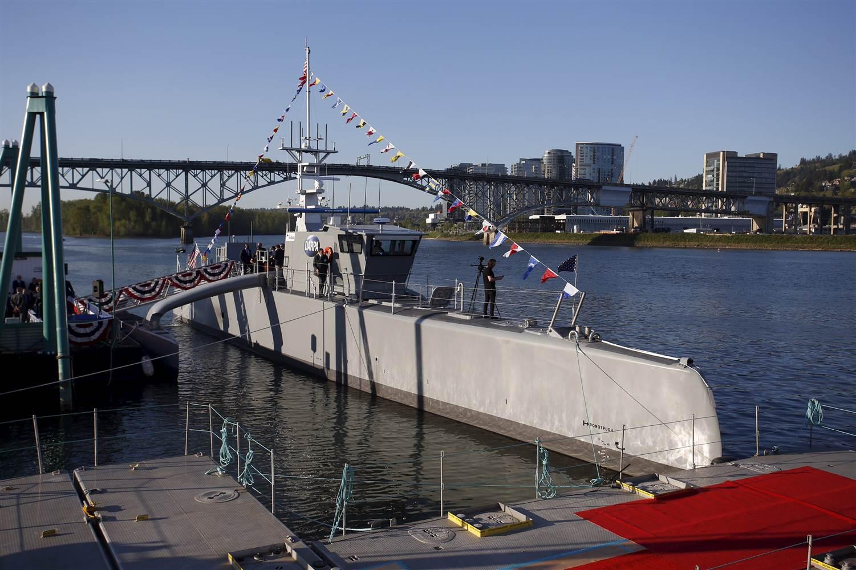 ABD ordusu, insansız gemi test etti