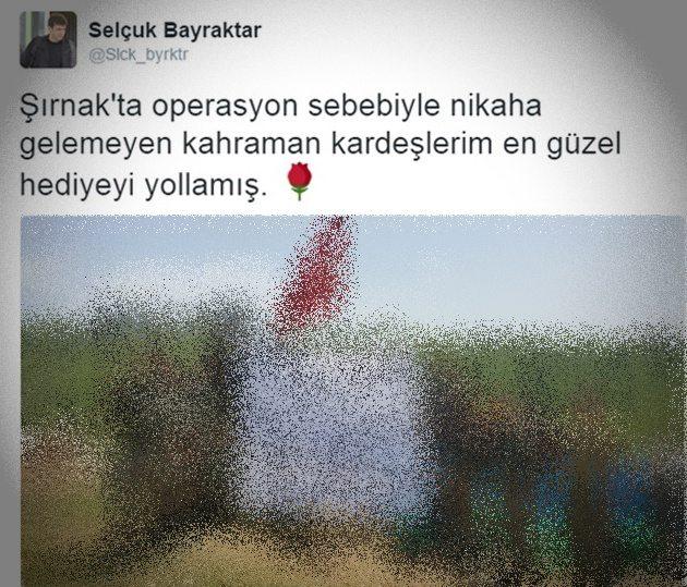 Erdoğan'ın özel harekatçılarından Damat Bey'e pankart
