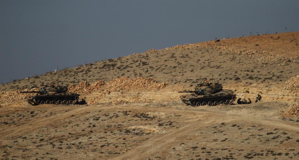 Kilis'te tank infilak etti: Motorunun arıza yaptığı iddia edildi!