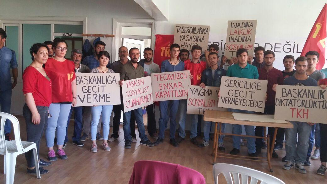 Komünistlerden #1Mayıs ve #Gaziantep saldırısı açıklaması