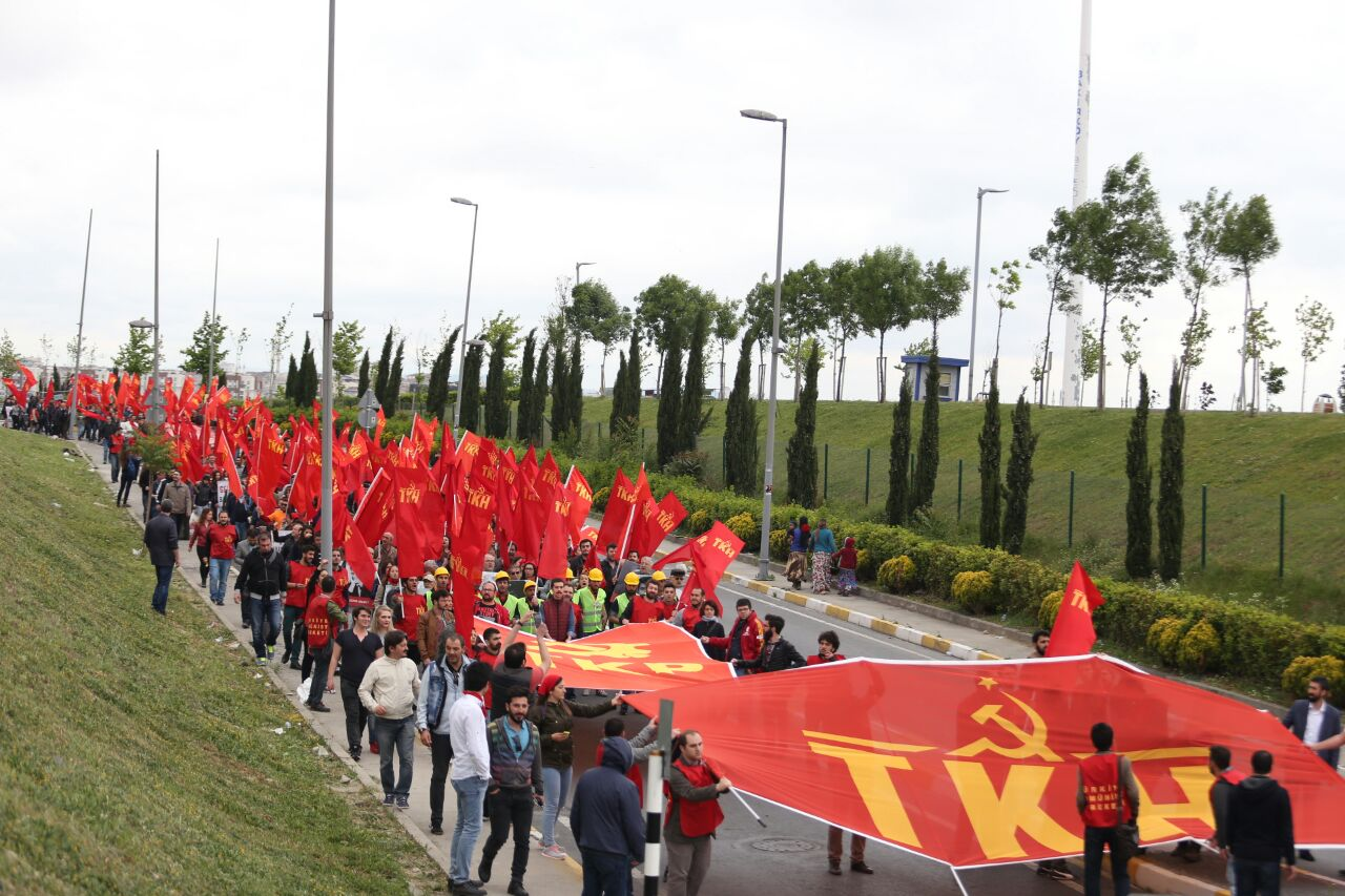 Komünistler Bakırköy'de: 1 Mayıs coşkuyla kutlanıyor