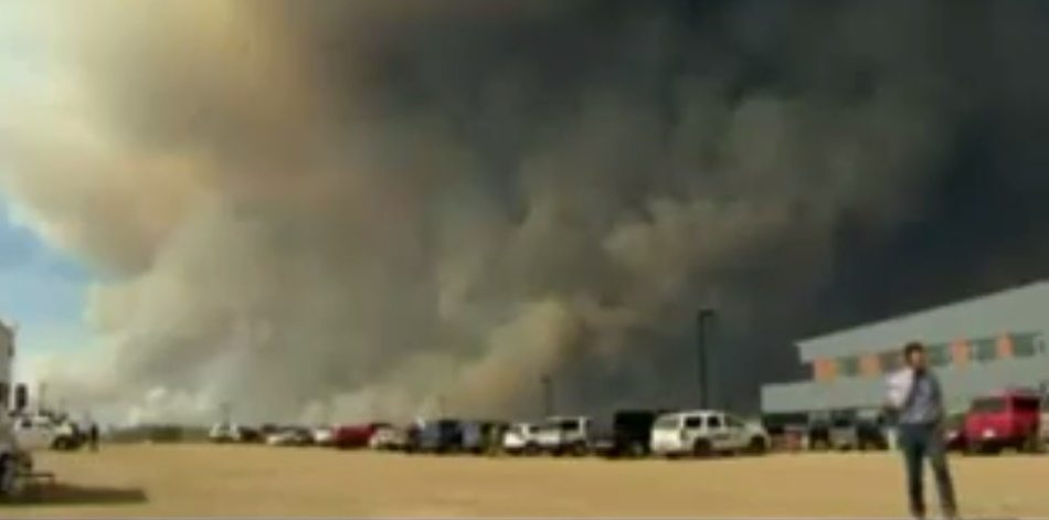 Kanada'da büyük yangın