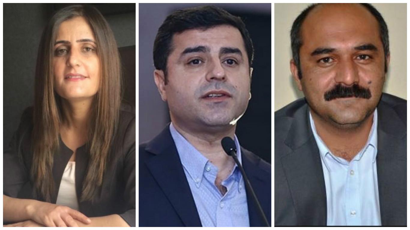 HDP lideri Demirtaş ve 2 vekil ifadeye çağrıldı