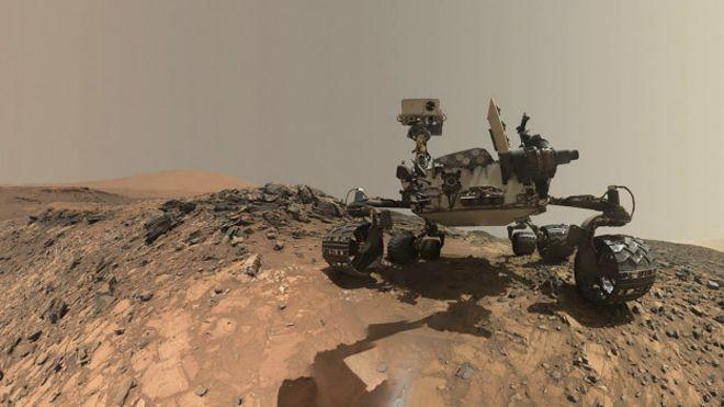 Mars'ta bir tarihi keşif daha