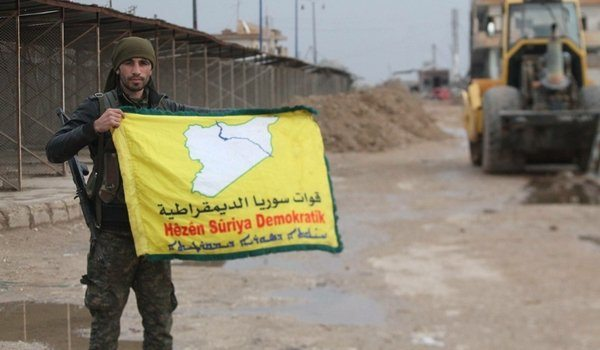 ABD destekli SDF güçleri Menbiç'e girdi
