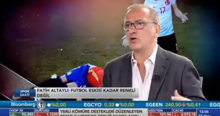 VİDEO | Fatih Altaylı'dan milli takıma: Aya roket mi yolluyorsunuz şerefsizler!