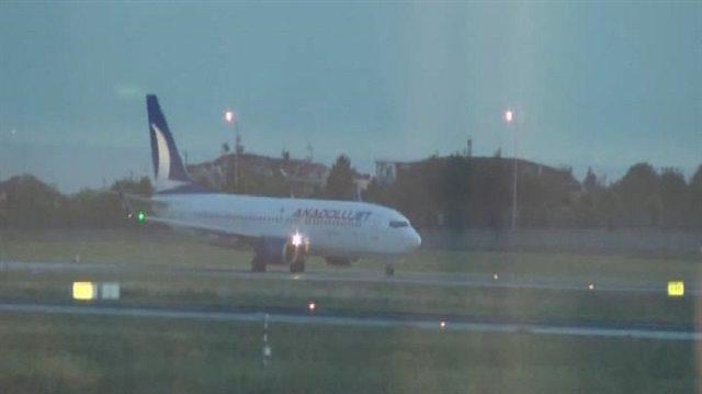 Yolcular direndi, Anadolu Jet'Yeşilköy-Pendik' seferi yaptı
