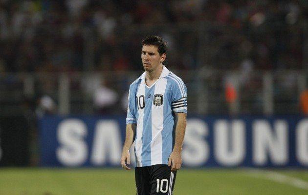Messi Arjantin'i bıraktı