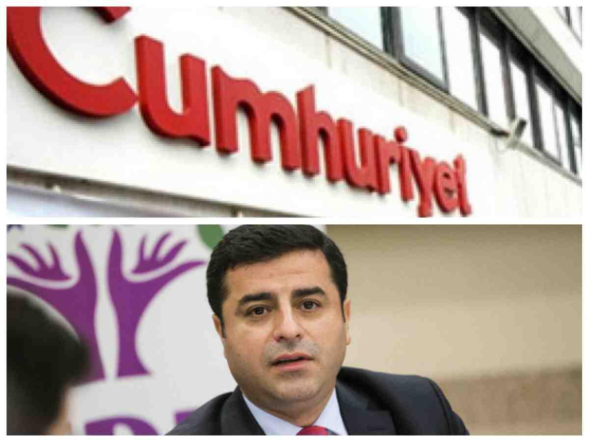 Selahattin Demirtaş'ın Cumhuriyet gazetesi röportajının satır arasından dökülenler
