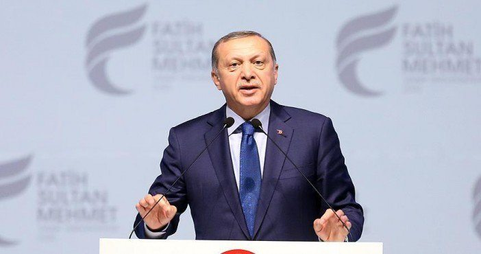 Erdoğan'ın Rusya'ya