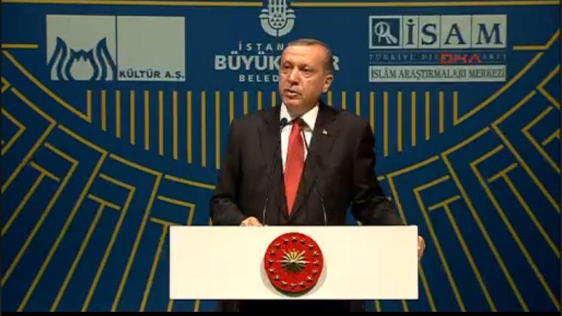 VİDEO | Erdoğan uslanmıyor: Oraya Topçu Kışlası'nı inşa edeceğiz