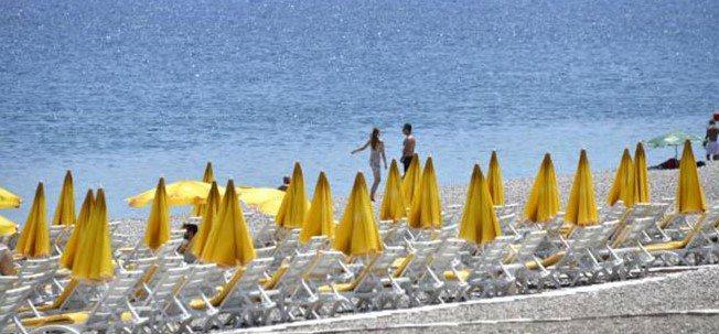 Acı gerçek, dünyaca ünlü sahil bomboş