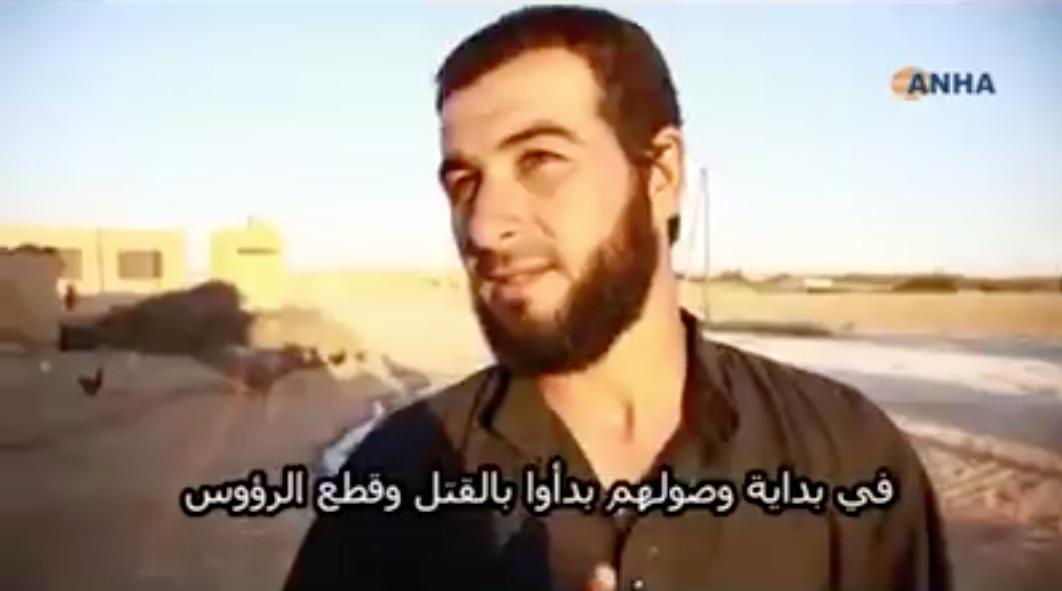 VİDEO | Menbiç'te kurtarılan Türkmenler IŞİD'i anlatıyor