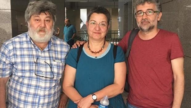 Şebnem Korur Fincancı ve Erol Önderoğlu'na tahliye