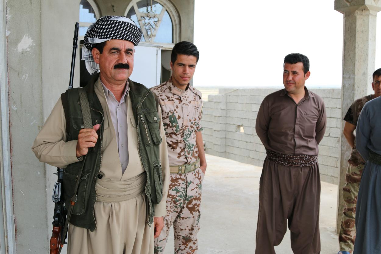 Barzani güçleri Musul'a yaklaşıyor