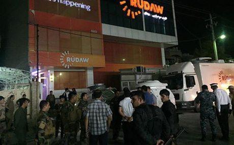 Rudaw merkezine bombalı saldırı