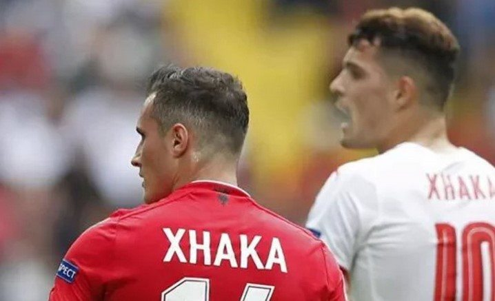 Euro 2016'da Xhaka'ların günü