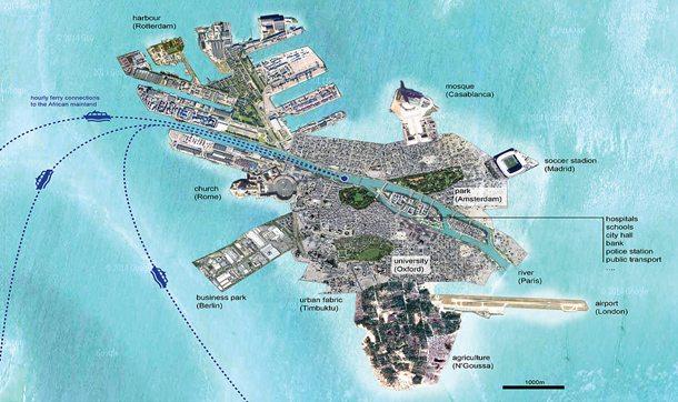 Mülteci sorununa çözüm bulundu: Yapay ada şehir!