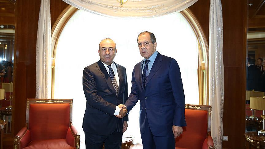 Lavrov ile görüşen Çavuşoğlu'ndan'Esad' açıklaması