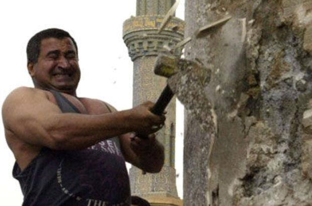 Saddam heykelini yıkan Iraklı: Elimde olsa yeniden dikerim