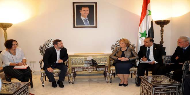 AB'den Esad'a sürpriz ziyaret