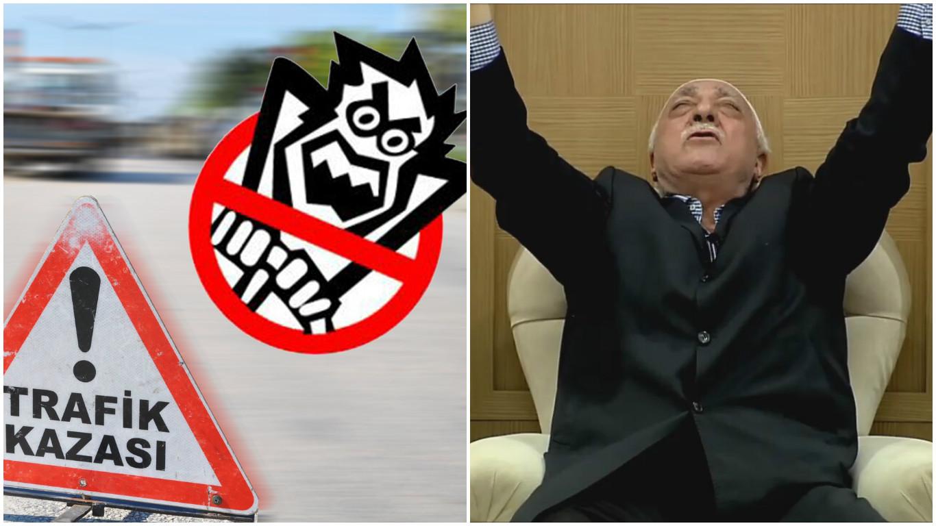 Başsavcı trafik kazalarını 'Gülen'in bedduası'na bağladı, soruşturma başlattı!