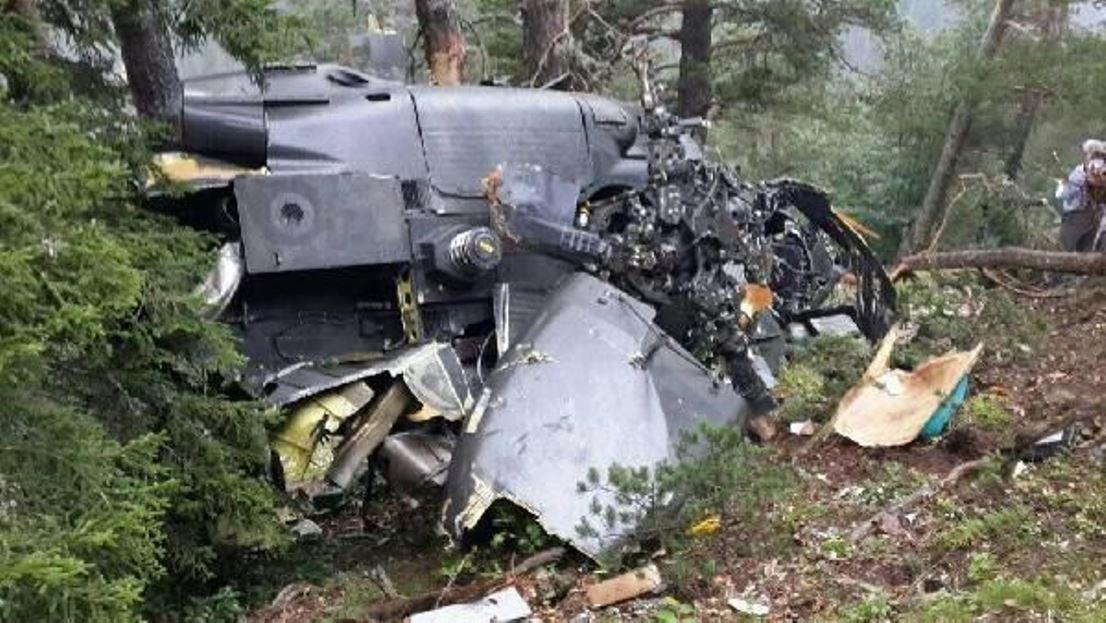 Giresun'da askeri helikopter düştü: 7 kişi yaşamını yitirdi