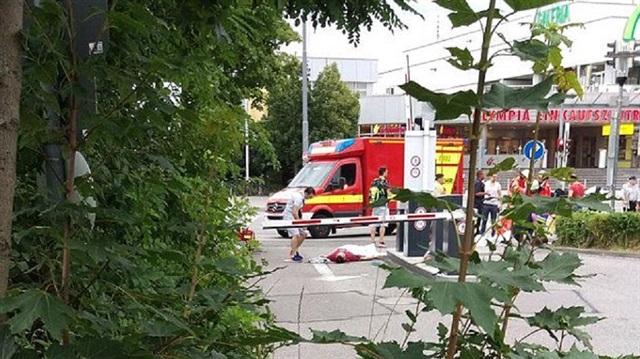 Münih'te silahlı saldırı: 8 ölü ve çok sayıda yaralı var
