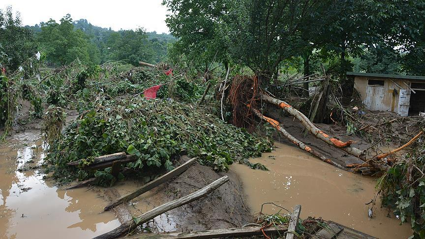 Ordu'da sel felaketi: 2 kişi yaşamını yitirdi, 1 kişi kayıp
